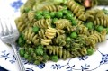 Pasta with Pesto and Fresh Peas