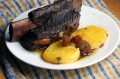 Restaurant-Style Shortribs with Polenta and Fall Vegetables