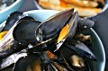 Steamed Mussels with Oven-Baked Olive Oil Fries