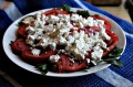 Broiled Eggplant, Tomato and Feta Salad