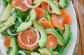 Orange, Avocado, Arugula and Sweet Onion Salad
