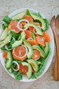 Orange, Arugula, Avocado and Sweet Onion Salad (1 of 4)-2